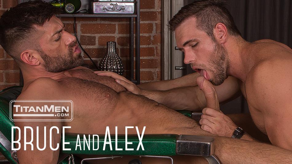 Beards: Bruce Beckham and Alex Mecum get buzzed and fuck!